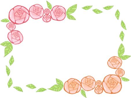 Rose frame 5