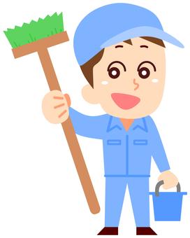Cleaner men