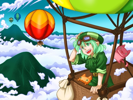 去氣球旅程