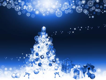 크리스마스 _blue