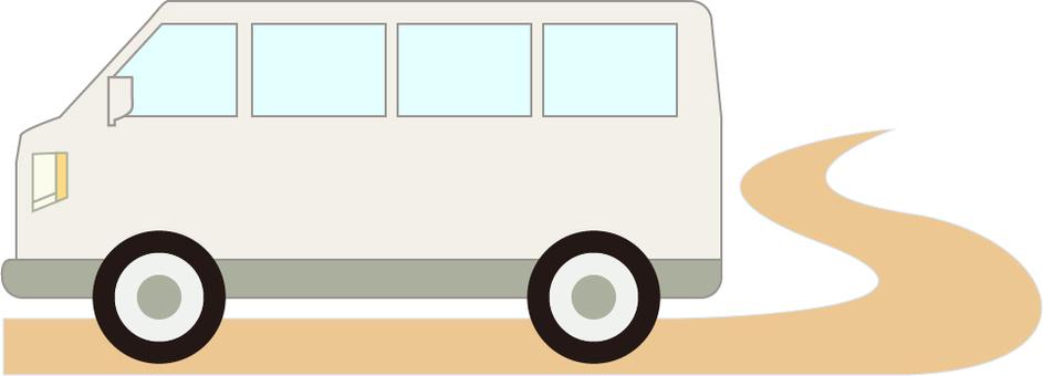 Transportation mini bus