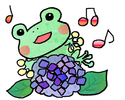 Song of frog