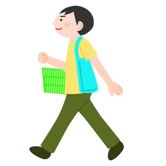 Men who are shopping
