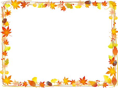 Autumn Leaves Frame 6