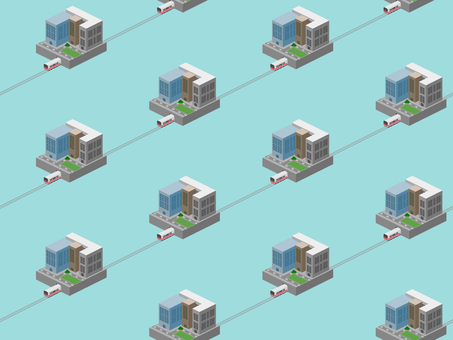 """Background pattern """"business district"""""""