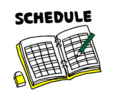 Schedule book (simple)