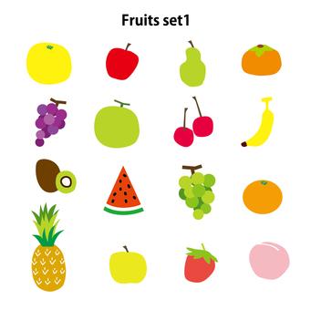 Simple fruit set 1
