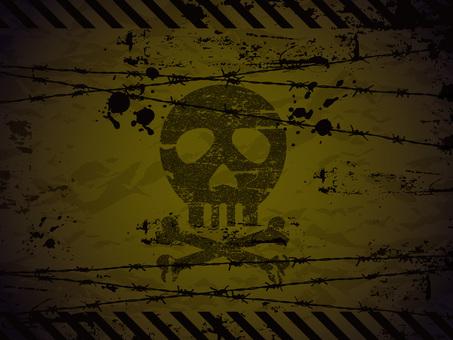 Skull background 03
