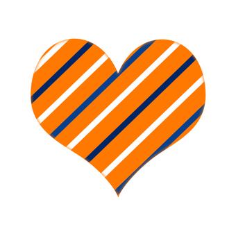 Stripe Heart 6