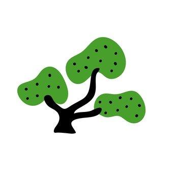 북유럽 풍 나무 (소나무)