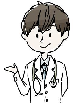 一位男医生