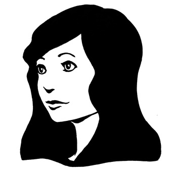 Black hair, female