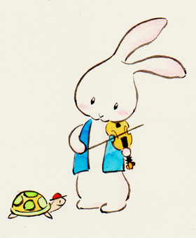 Violin rabbit 19