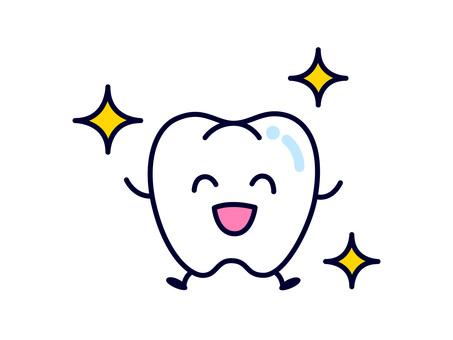 Tooth (shiny)