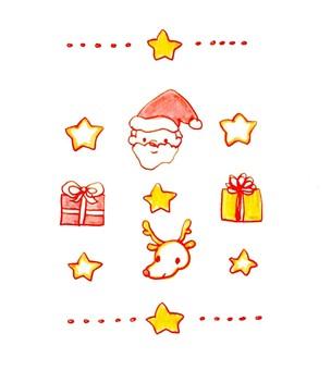 Santa × reindeer