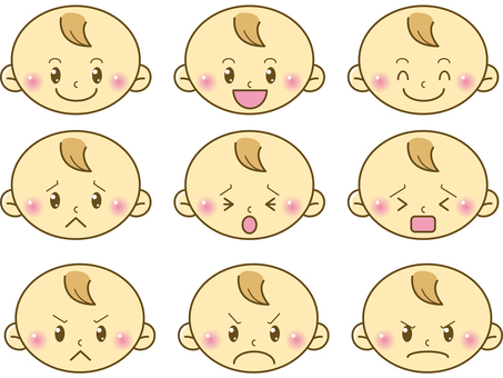 Baby / face illustration