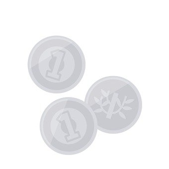 1 yen coin 3 sheets