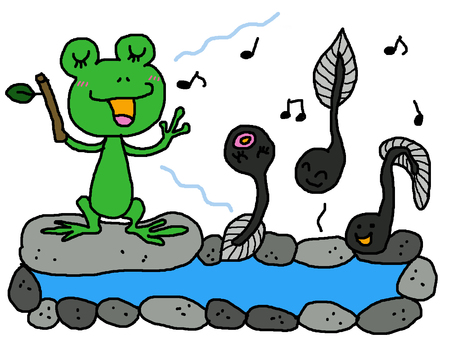 The frog song ~ ~