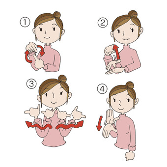 I am a sign language beginner