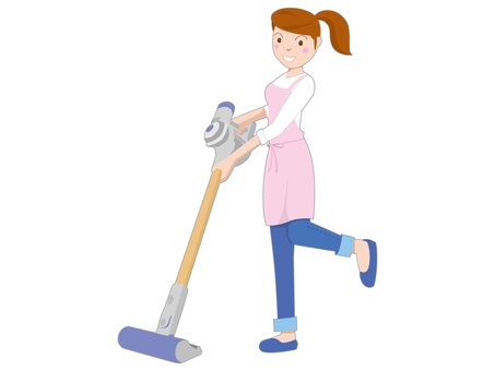 People illustration housework 01