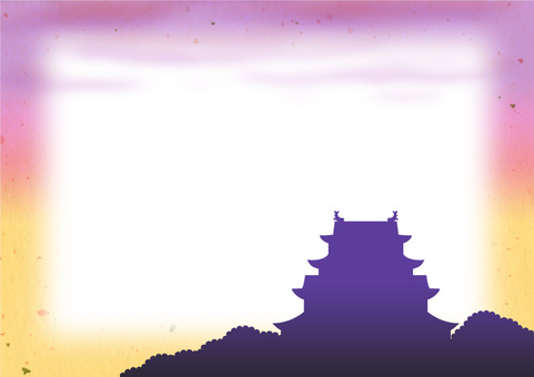 【Frame】 Dusk of the castle