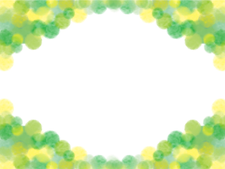 Watercolor frame material