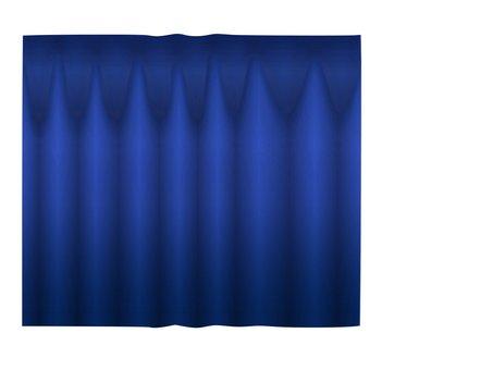Curtain (blue)