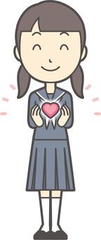 初中水手女人-091-全身