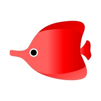 Tropical fish (red)