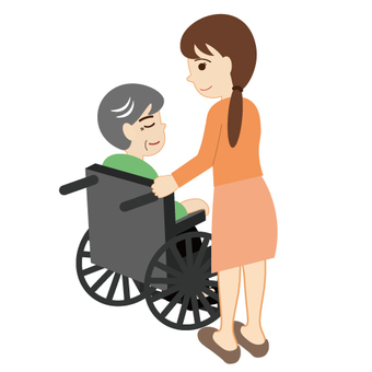 Image of care (gentle impression)