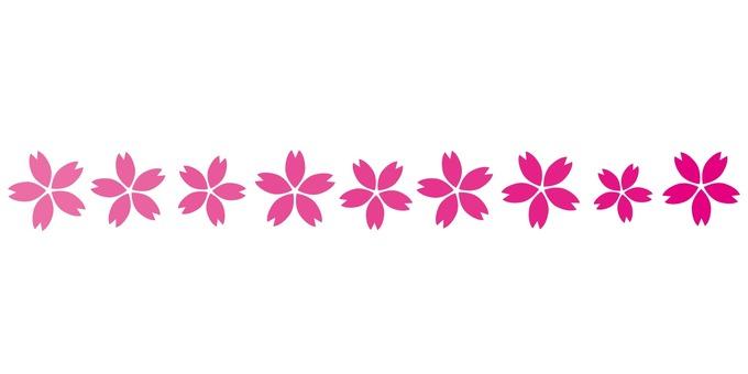 라인 09 벚꽃