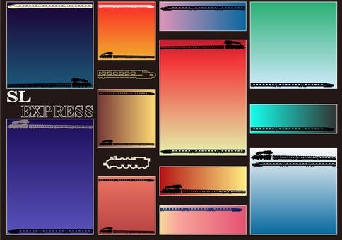 Card design: SL and EXPRESS