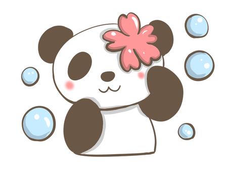 팬더와 비눗 방울