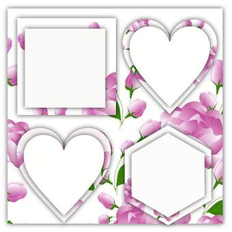 Rose frame 2
