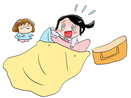 Changing bed sheets for nursery