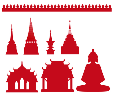 Thailand _ Silhouette set