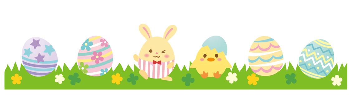 Cute Easter Line