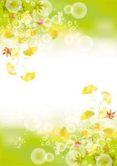 Autumn leaves & gingko 11