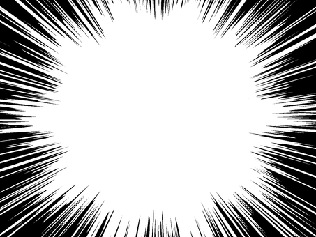 Comics style 03 white through the PNG