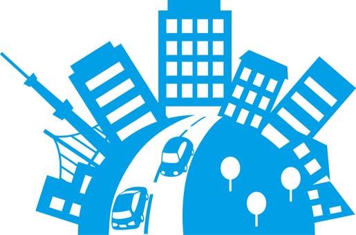 도시 및 도로