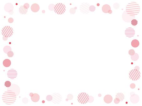 MARU frame pink