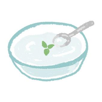 Yogurt __ handwriting style