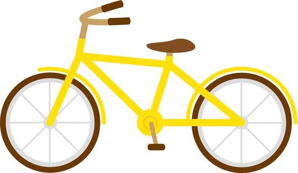 Bicycle (yellow)
