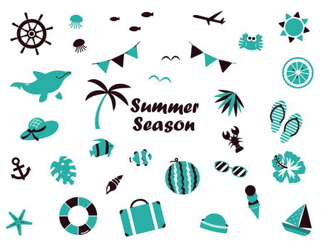Summer Illustration Material Collection 2