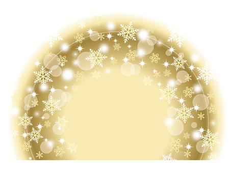 Snow Background 8 Gold