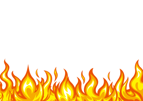 Fire flame fire frame