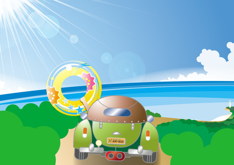 Summer, sea, drive