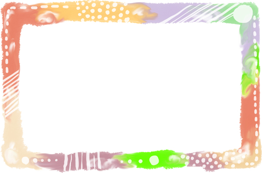 Frame 【Photo frame drawn with watercolor】 Fall color