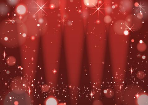 キラキラ背景 赤・アップライト