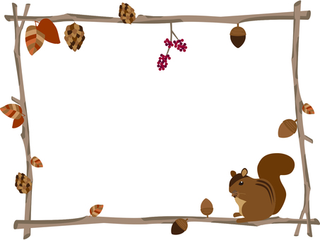 Twigs and squirrel frames
